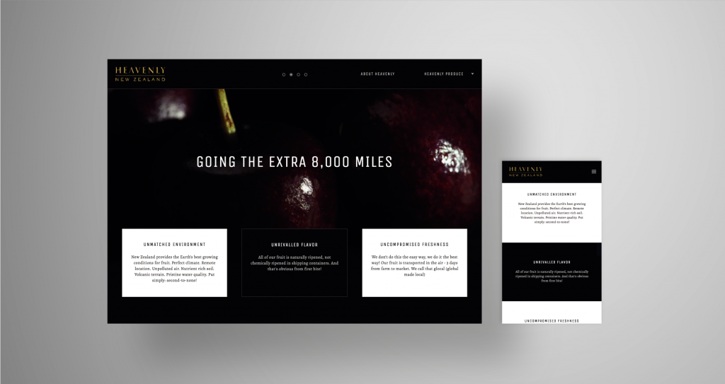 Custom Wordpress Theme With Commissioned Photography