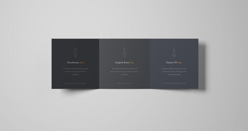 500gsm Premium Tri-Fold handout